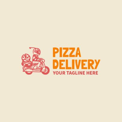 Online Logo Maker for Restaurant with Pizza Delivery 989e