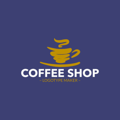 Coffee Shop Logo Maker | Online Logo Maker | Placeit