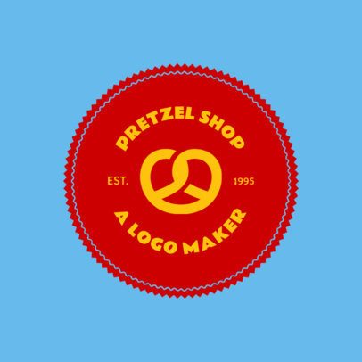 Online Logo Maker for a Pretzel Shop 1013e