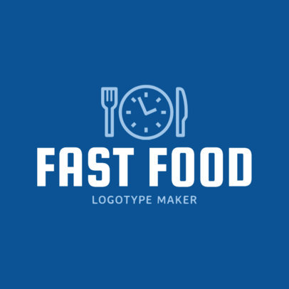 Fast Food Restaurant Logo Template 1012b