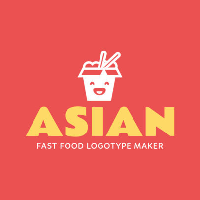 Custom Logo Maker for Asian Restaurants 1012e