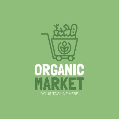Organic Market Logo Maker 1030b