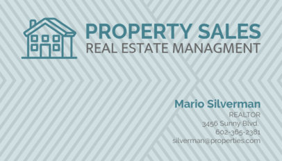 Business Card Maker for Property Sellers 66e