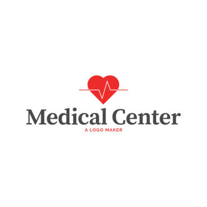 Clinic Logo Maker with Medical Symbols 1025e