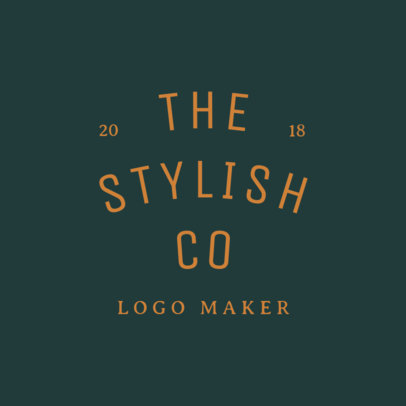 Modern Logo Maker for Fashion Industry 1067f