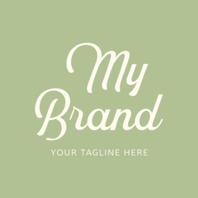 Marker Font Logo Maker for Apparel Brands 1077c