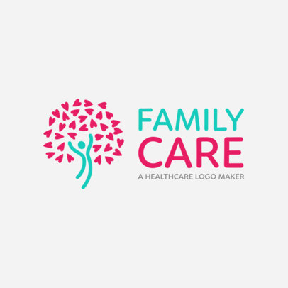 Family Health Center Logo Template 1049c
