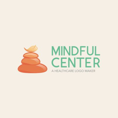 Custom Logo Maker for Holistic Centers 1049f
