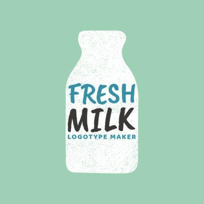 Logo Maker for Organic Milk Brands 1125a