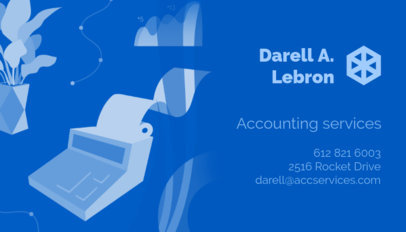 Business Card Maker for Accountants a321