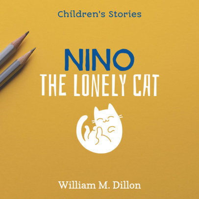 Children's Book Cover Maker 407d-1903