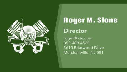 Auto Repair Business Card Maker