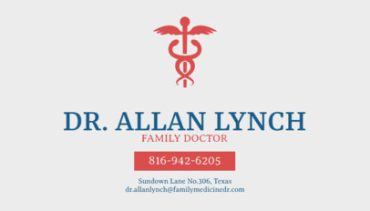doctor business card maker - Doctor Business Card