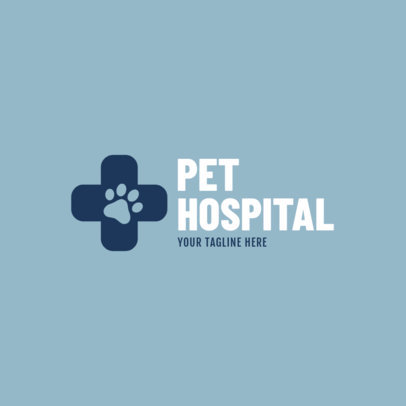 Animal Hospital Logo Maker 1147b