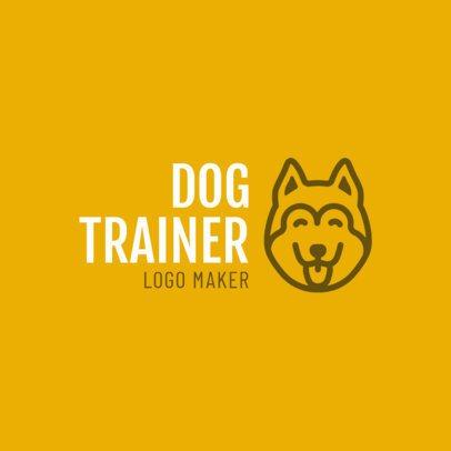 Online Logo Maker for Dog Trainers 1147d