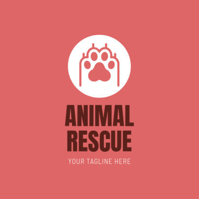 Custom Logo Maker for Animal Shelters 1147e