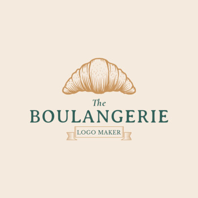 Boulangerie Logo Maker 1113c