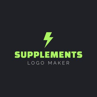 Custom Logo Maker for Supplement Stores 1180d