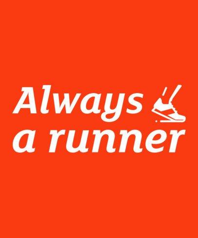 T-Shirt Design Maker for Runners 27c