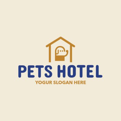 Online Logo Maker for a Pet Hotel 1191d