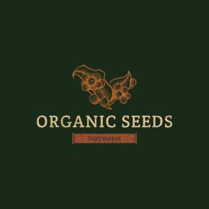 Custom Logo Maker for Organic Food 1192d