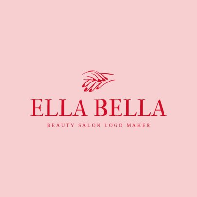 1169e Beauty Salon Logo MakerBeauty Salon Logo Maker with Minimalist Designs 1169e