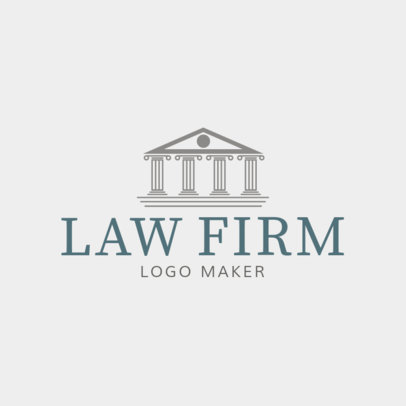 Custom Logo Maker for Law Firms 1194a