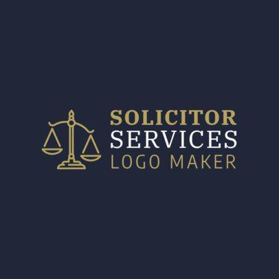 Custom Logo Maker for Solicitors 1194c