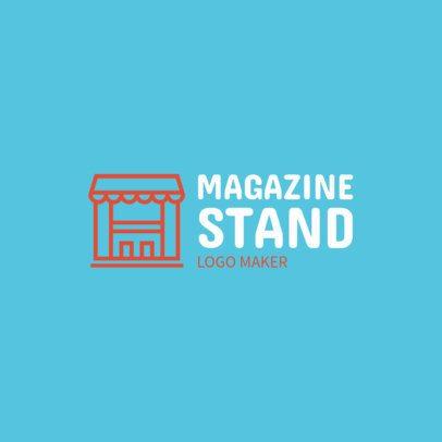 Online Logo Maker for a Newsstand 1282b