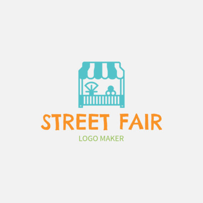 Logo Maker for a Street Fair 1282c
