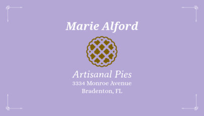 Business Card Maker for Cake Shops 65e
