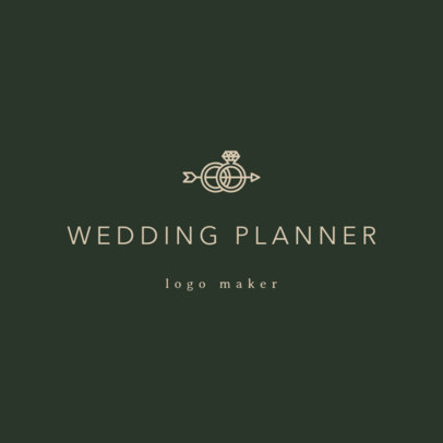 Custom Logo Maker for a Wedding Planner 1217a