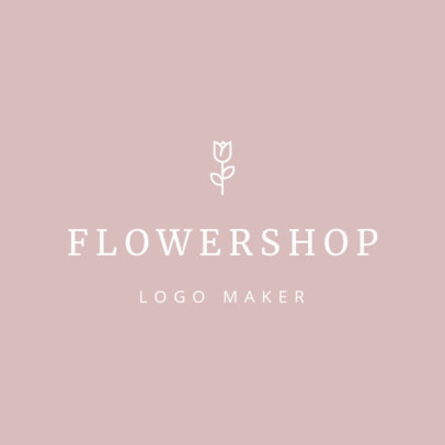 Online Logo Maker for Wedding Florists 1217b