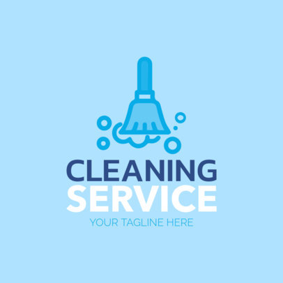 Clean Service Logo Maker with Cleaning Service Icons 1204c