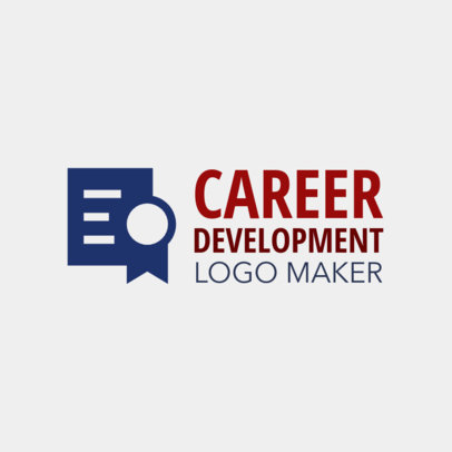 Career Development Logo Maker 1212b