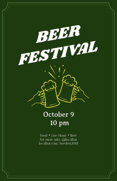 Online Flyer Maker for Beer Festivals 94e