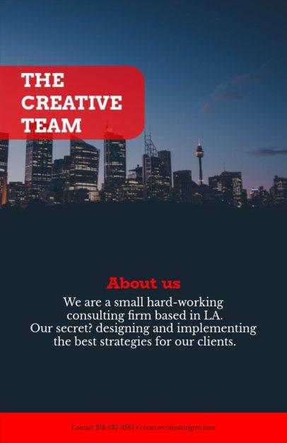 Online Flyer Maker for Creative Businesses 100b