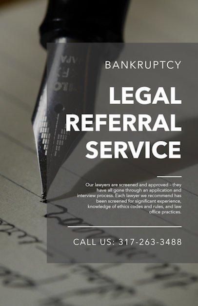 Flyer Maker for Legal Services a335