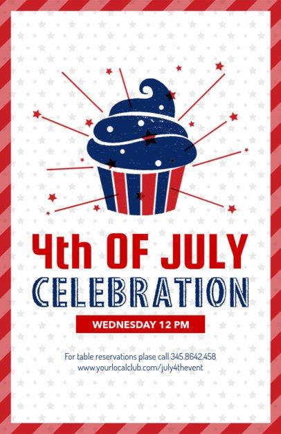 4th of July Flyer Maker 153b