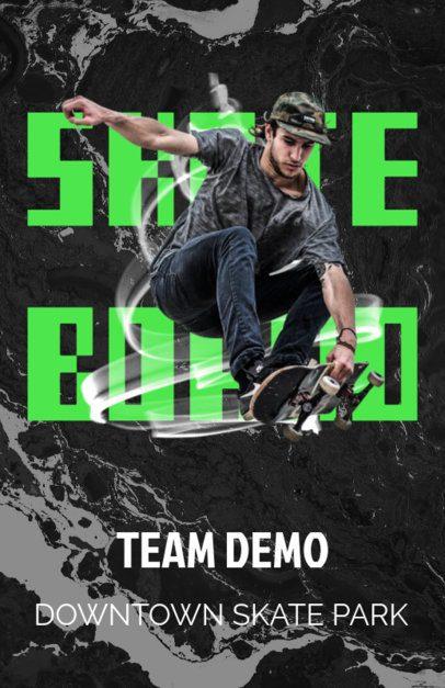 Promotional Flyer Maker for Pro Skateboarding Events 171d