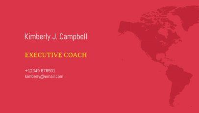 Executive Business Card Maker 120b