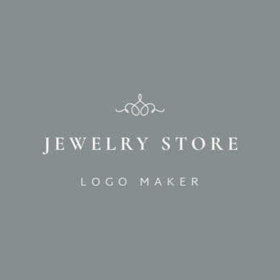 Online Logo Maker for a Classy Jewelry Store 1208b