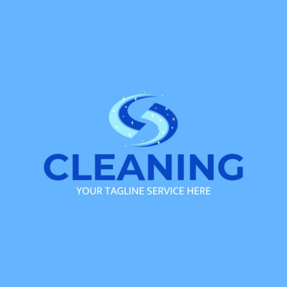 Custom Logo Maker for Dry Cleaners 1173e