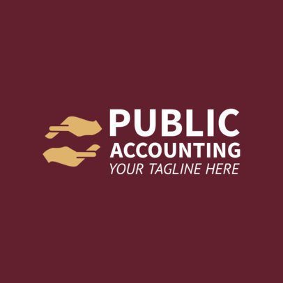 Online Logo Maker for Public Accounting Firms 1203f