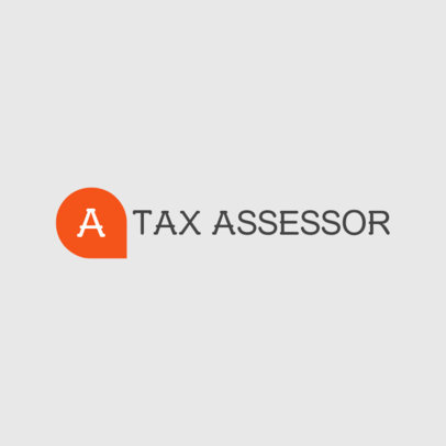 Online Logo Maker for a Tax Assessor 978b