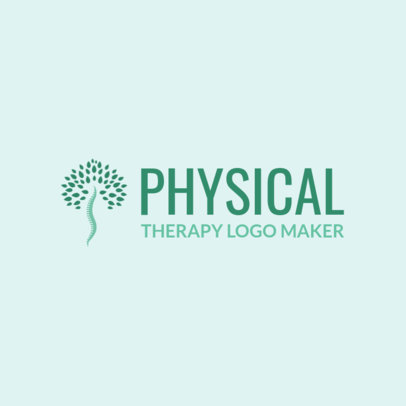 Online Logo Maker for Physical Therapy Clinics 1188d