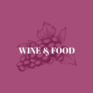 Online Logo Maker for a Wine Bar with Grape Illustration 1022b