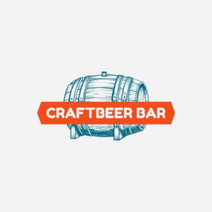 Online Logo Maker for a Craft Beer Bar 1022e