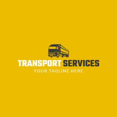 Transportation Services Logo Maker 1181c