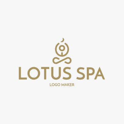 Custom Logo Maker for Beauty Spa with Body Icons 1176e